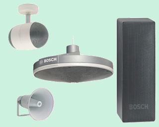 громкоговорители Bosch