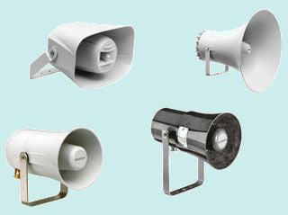 мощные рупорные громкоговорители Bosch