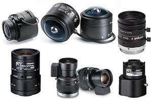 1-6 мегапиксельные объективы для камер с матрицами от 1/4 до 1 дюйма