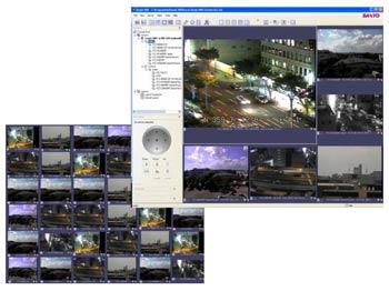ПО Sanyo VMS для систем охранного телевидения