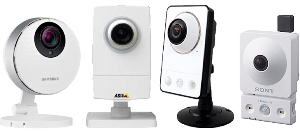 сетевые беспроводные камеры с объективом