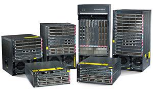 многопортовые сетевые коммутаторы Cisco Catalyst 6500