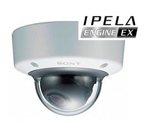 Вандалозащищенная купольная IP-камера c IPELA ENGINE EX™