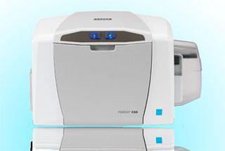 Термосублимационный карт принтер с разрешением печати 300 dpi