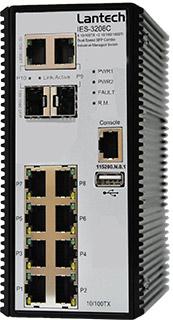 Ethernet коммутатор IP камер c 8 10/100TX и 2 гигабитными портами