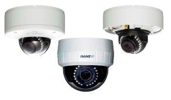 купольные IP-камеры с ИК-подсветкой