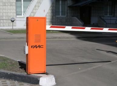 организация доступа на придомовую парковку