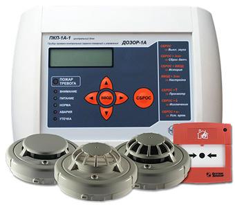 Наращиваемая адресная пожарная сигнализация на базе извещателей System Sensor и ПКП «Дозор-1А» марки «НИТА»