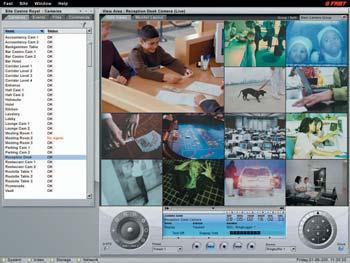 многоканальная система видеонаблюдения FAST/NICE