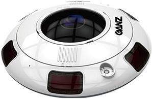 Охранная уличная поворотная IP камера для работы от -45 °С до +60 °С