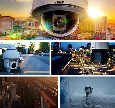 Внутренние и уличные PTZ-камеры серии Pelco Spectra Enhanced 7