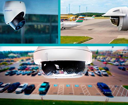 Full HD уличные купольные IP-камеры с моторизированным P-Iris  вариообъективом