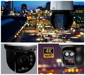 Антивандальная PTZ 4K камера с расширенными возможностями аналитики