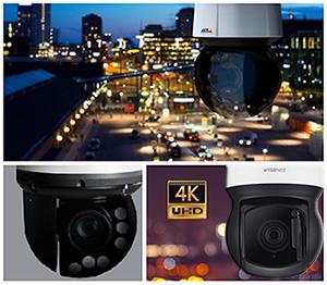 Наружная IP-камера с PTZ и 4K марки WISENET