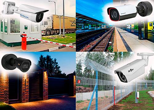 2-мегапиксельные цилиндрические IP камеры для уличного видеоконтроля